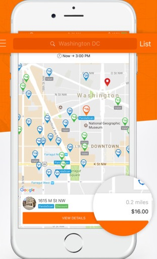 How to use ParkingPanda App?