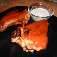 Man Food: Giant Buffalo Wings