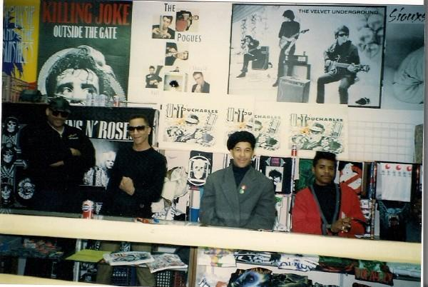 The Untouchables Music Market record signing