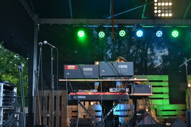 Cavern of Anti-Matter 3, live at By The Lake Festival, (c) Dörte Heilewelt