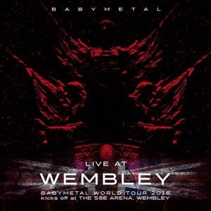 Babymetal Live at Wembley Cover