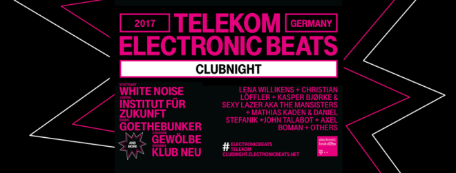 Telekom Electronic Beats Clubnight