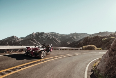 Polaris Slingshot SL LE Midnight Cherry