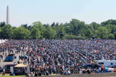 2015 Rolling Thunder Pentagon Parking Lot