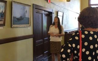 Art Calusa exhibit tour with Theresa Schober