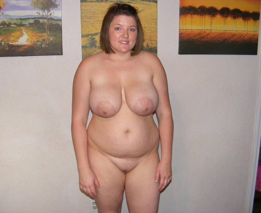 Chubby nudist women