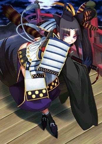 牛若丸霊基再臨最終段階イラスト