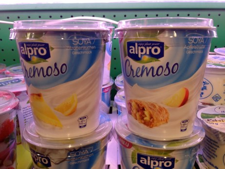 New Alpro dessert, we bought the lemon one