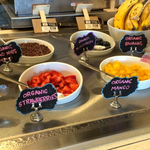 toppings fruit