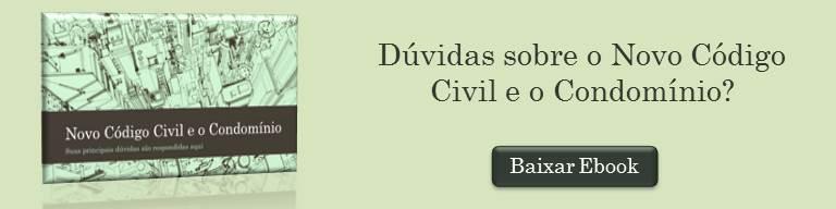 Banner Ebook Novo Código Civil e o Condomínio