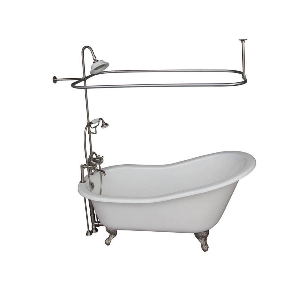 Mind Clawfoot Tub Shower Clawfoot Tub Faucet Buying Guide Part Add A Shower Clawfoot Tub Shower Kit Lowes Clawfoot Tub Shower Ring houzz-03 Clawfoot Tub Shower