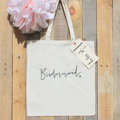 Etsy Be My Bridesmaid Tote