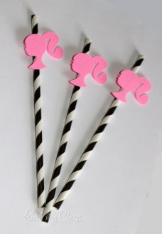 Barbie Straws