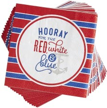 Clean up any spills from summer brews with these adorable napkins!
