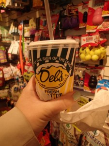 My first Del's