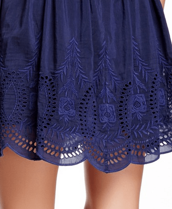 Joie Isere Embroidery Detail