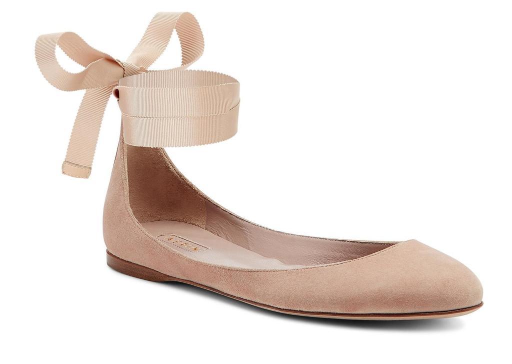 Aerin Suede Ballet Flat