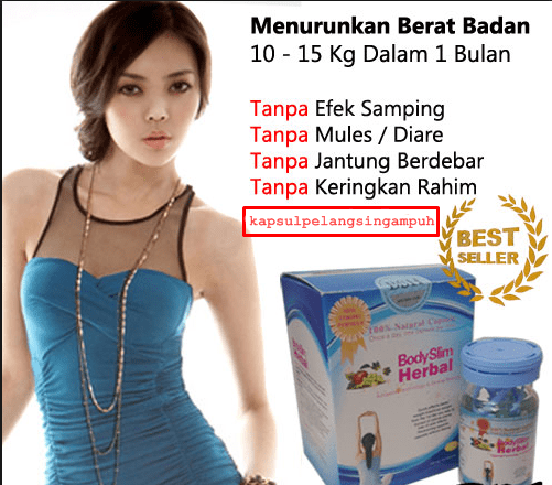 body slim herbal kemasan terbaru