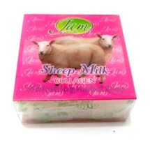 sabun susu domba kolagen sheep milk collagen whitening herbalm soap