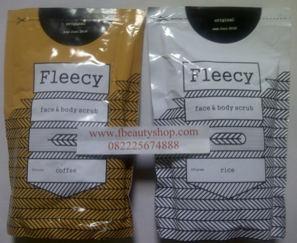 fleecy Coffe scrub fleecy rice scrub