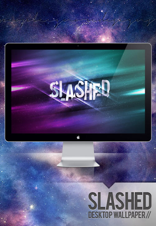 slashed wallpaper by jlgm25 d58epnl Wallpaper Of The Week #53