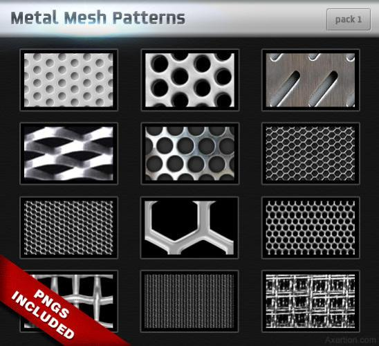 metal mesh patterns   pack 1 by axertion d1s9l8c 20 Useful Background Pattern Collection