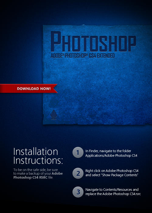 Grunge Photoshop Splash Screen by mgilchuk 10 Awesome Grunge Photoshop Brushes | Download