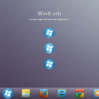 Win8 orb for Windows 7