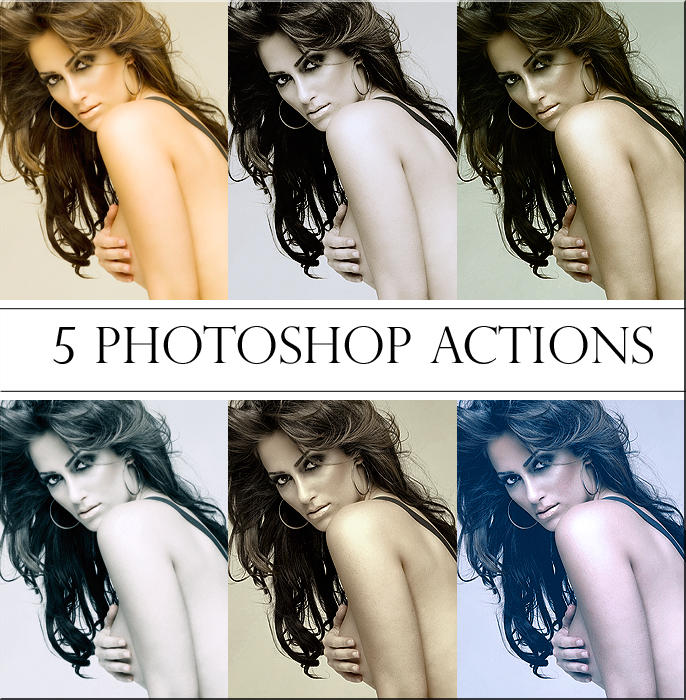 Photoshop Actions Pack by ReehBR 10 Great Photoshop Actions Packs