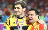 Xavi hails praise on Casillas