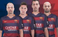 Barça's four captains for 2015/16
