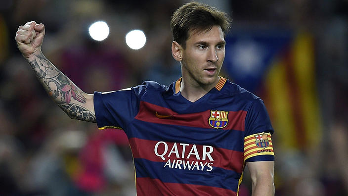 Messi out for less than two months says doctor