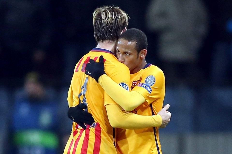 Neymar & Rakitic were the key of yesterday's triumph