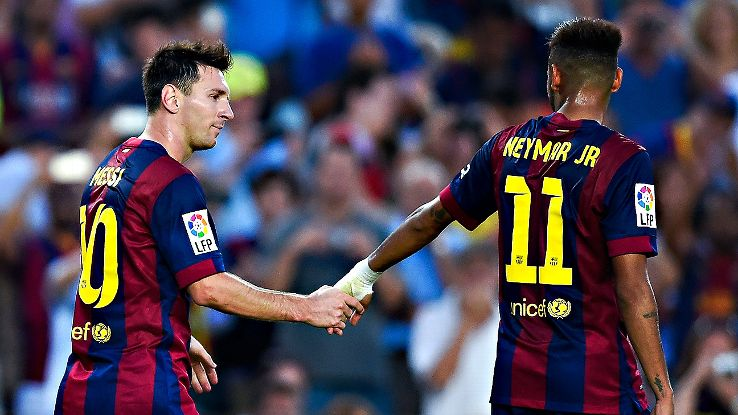 Juninho believes that Neymar shouldn't try to replace Messi