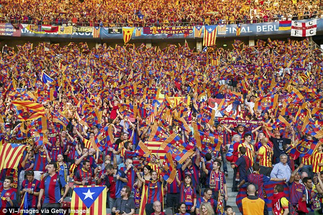 Barcelona reach deal with UEFA to stop estelada sanctions