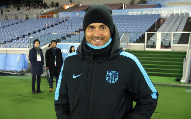 Luis Enrique: conference against River Plate