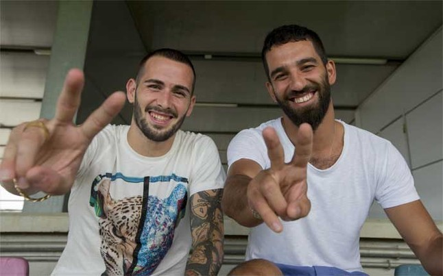 Turan & Vidal raring to go for Barcelona