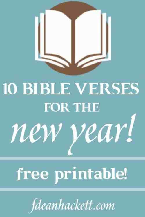 Medium Of New Year Bible Verses