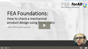 FEA foundations free course