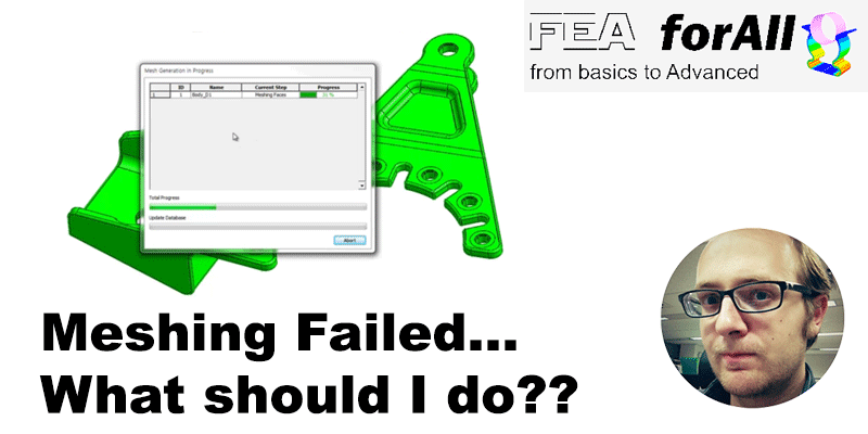 CAD Model: Why meshing fails?