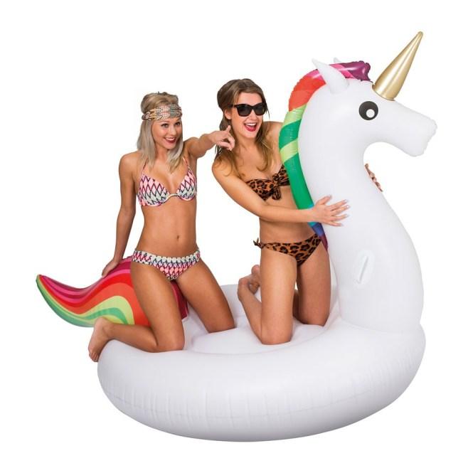opblaabare unicorn