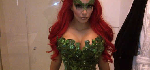 Kim Kardashian Poison Ivy You Know What Makes Perfect Sense?