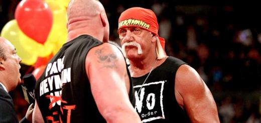 Hulk Hogan Brock Lesnar