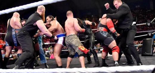 WWE Raw Team Cena Team Authority Wrestling Review: WWE Raw (11/17/14)