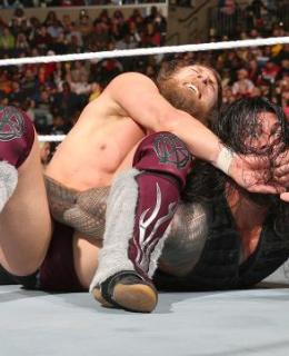 WWE Fastlane Daniel Bryan Roman Reigns