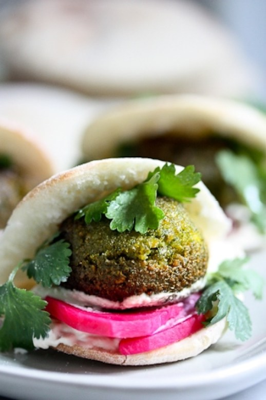 how to make falafel from scratch video