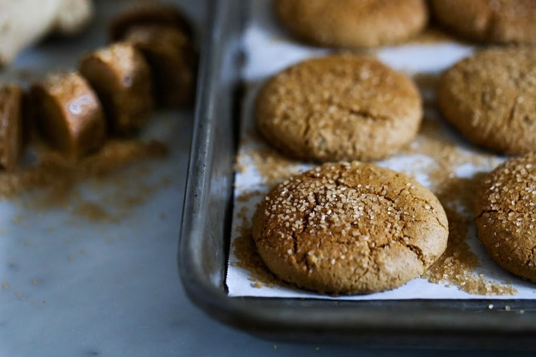 Chewy Triple Ginger Cookies | Feasting At Home