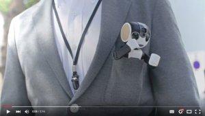 ロボホン01-胸ポケットに入るサイズ