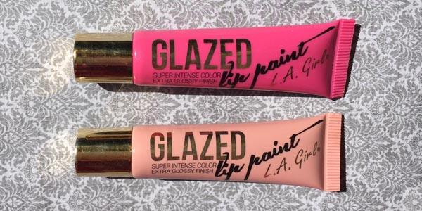 L.A. Girls Glazed Lip Paint Review   Fed & Fab