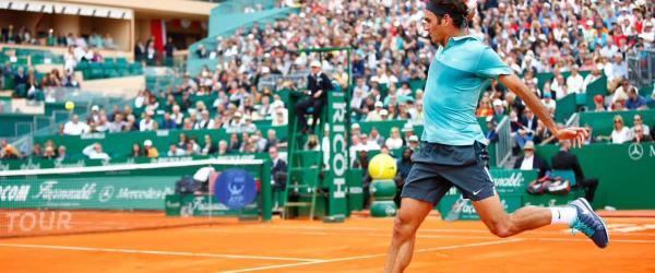 Roger Federer Monte Carlo Rolex Masters